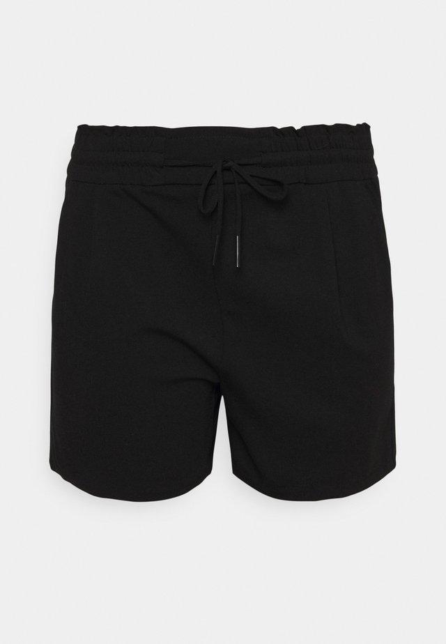 VMEVA RUFFLE - Shorts - black
