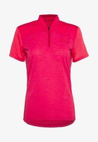 Vaude - TREMALZO - T-shirt z nadrukiem - crimson red - 3