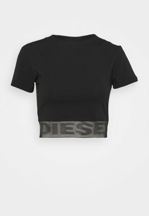 UFTEE-GIORGMESH-SV - Pyjamasoverdel - black