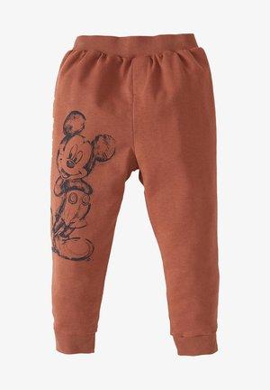 MICKEY & MINNIE   - Tracksuit bottoms - orange