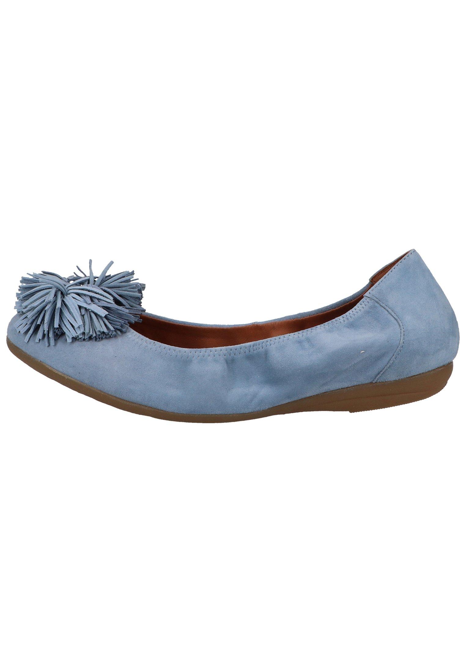 Damen Klassischer  Ballerina - blue