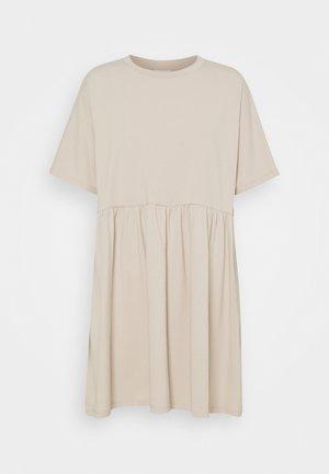 NMKERRY SHORT DRESS - Jerseykjole - chateau gray