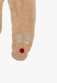 mothercare - BABY FESTIVE FLUFFY REINDEER - Overal - light brown - 3