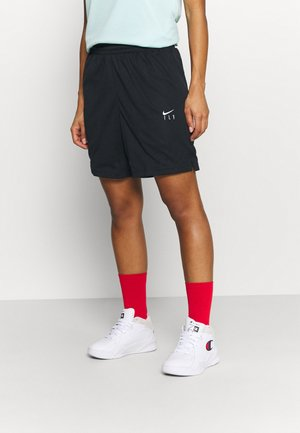 FLY ESSENTIAL SHORT - Pantalón corto de deporte - black