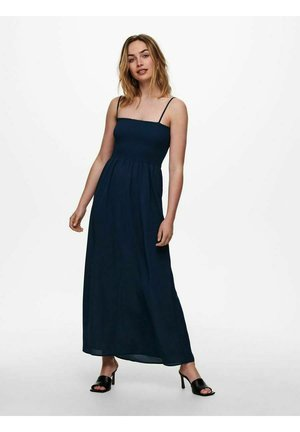 GESMOKTES - Maxi dress - dress blues