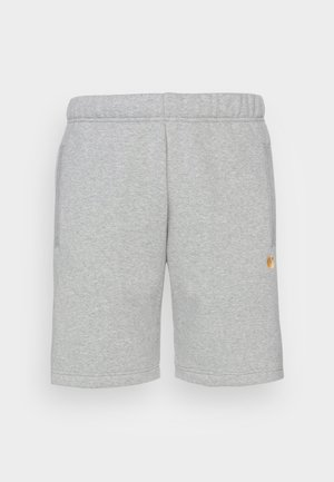 CHASE - Tracksuit bottoms - grey heather / gold