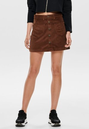 ONLAMAZING SKIRT - Gonna a campana - coffee bean
