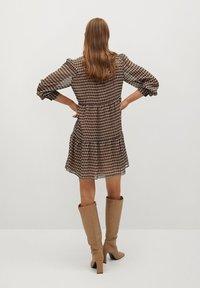 Mango - VIENA - Shirt dress - beige - 2