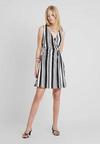 Anna Field - Shift dress - white/black - 1