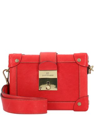 UMHÄNGETASCHE LEDER 19 CM - Across body bag - red