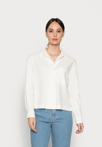 Marc O'Polo - BLOUSE - Button-down blouse - cotton white - 0