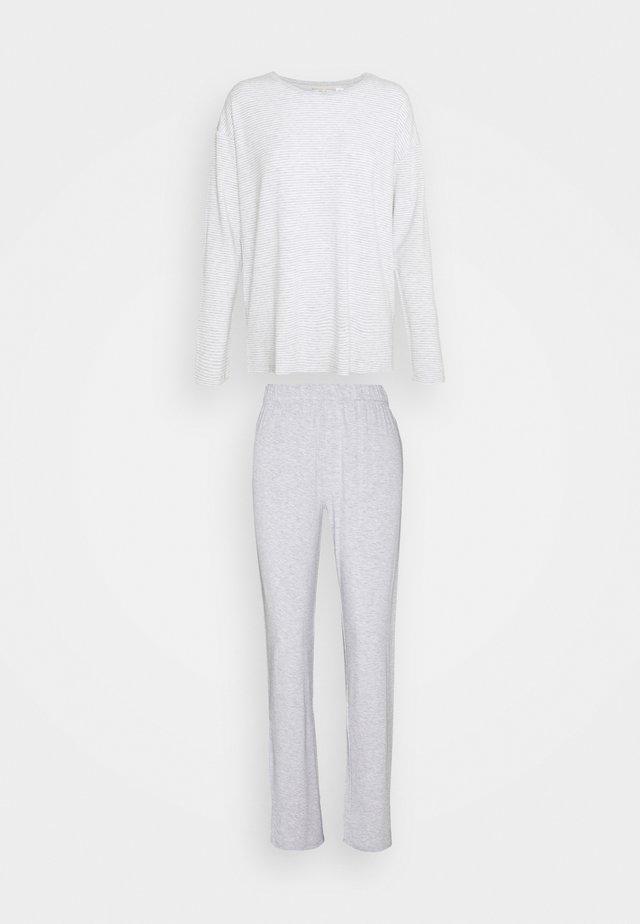 STRIPES SET - Pyžamo - medium grey melange