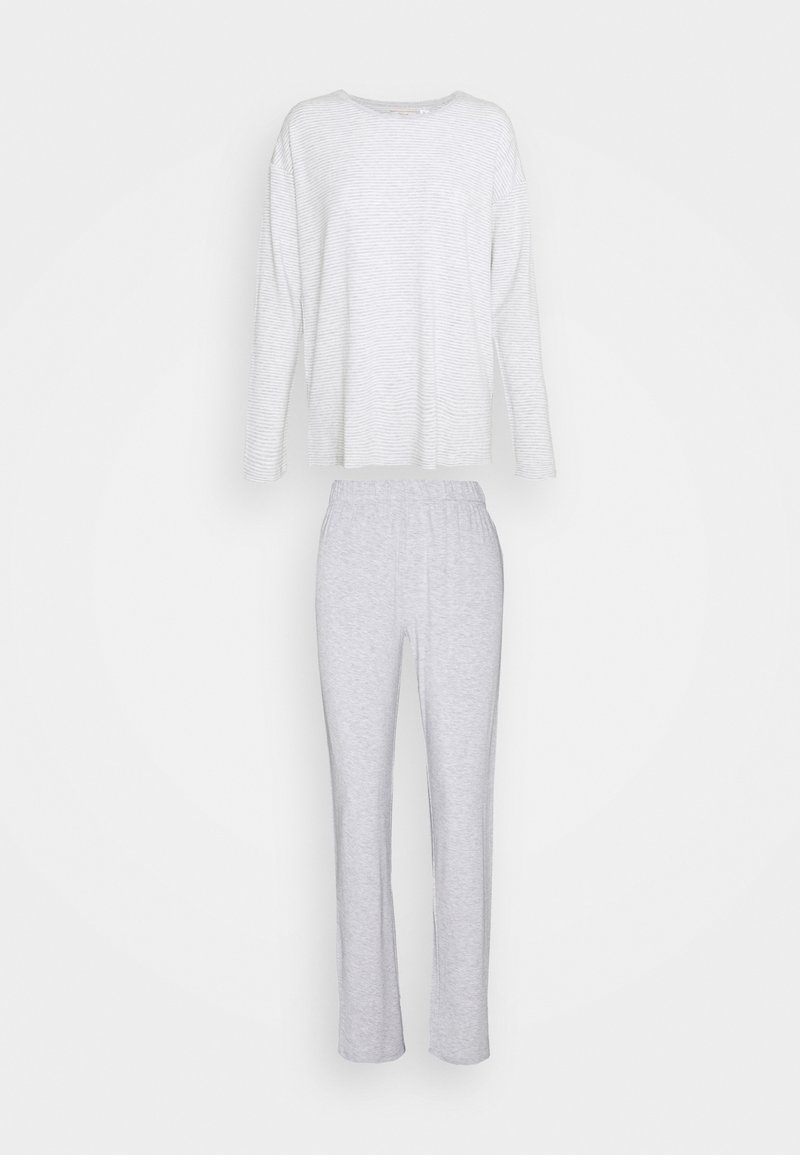 Triumph - STRIPES SET - Pyjamas - medium grey melange