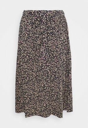PRINTED - Áčková sukně - blue