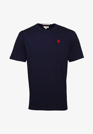 MIT RUNDHALSAUSSCHNITT SHORTSLEEVE - T-shirt basic - dunkelblau