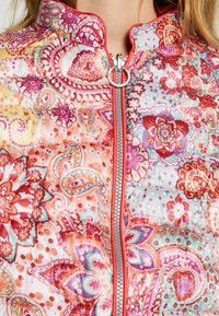 Barbara Lebek - Light jacket - paisley coral - 6