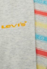 Levi's® - LABEL STRIPE REGULAR CUT 2 PACK - Socks - grey - 1
