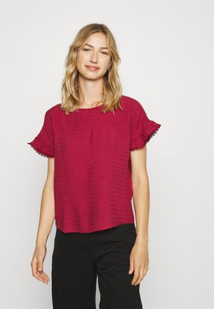 VMSIFF CROP - Blouse - tibetan red