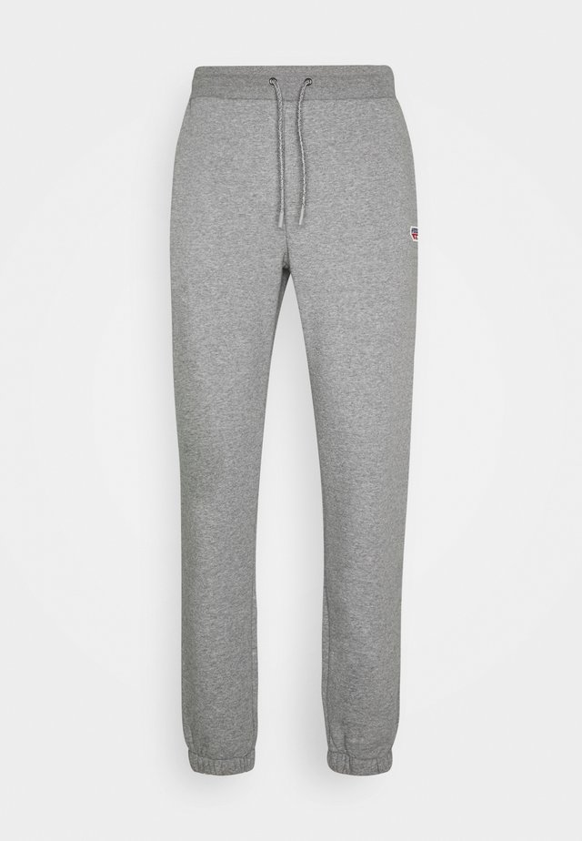 MAURICE - Trousers - collegiate grey marl