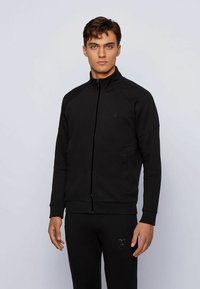 BOSS - Sweater met rits - black - 0