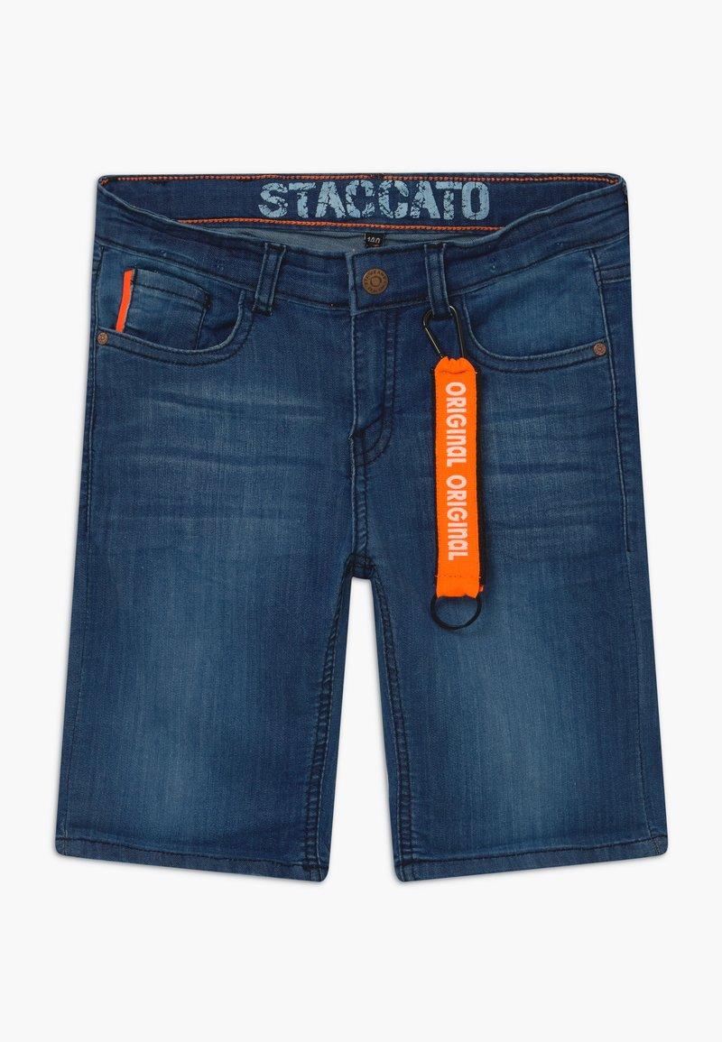 Staccato - BERMUDAS TEENAGER - Džínové kraťasy - blue denim