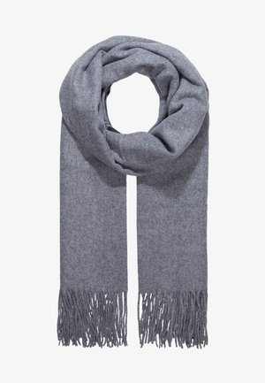 Sjal - medium grey melange
