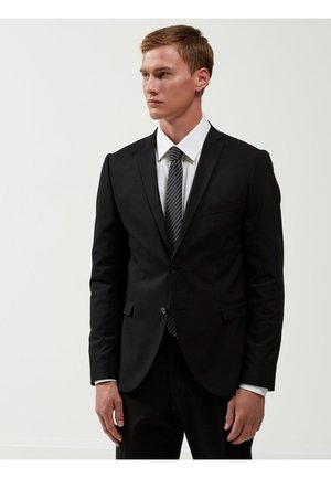 SLIM FIT - Jakkesæt blazere - black