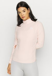 The North Face - WOMENS GLACIER ZIP - Fleecepullover - morning pink - 0