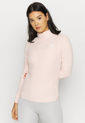 WOMEN'S GLACIER 1/4 ZIP - Fleecetrøjer - morning pink