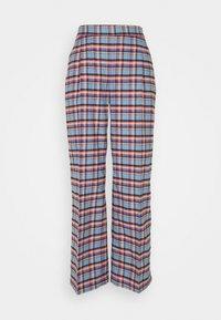 TRAVEL PANTS - Trousers - skye blue