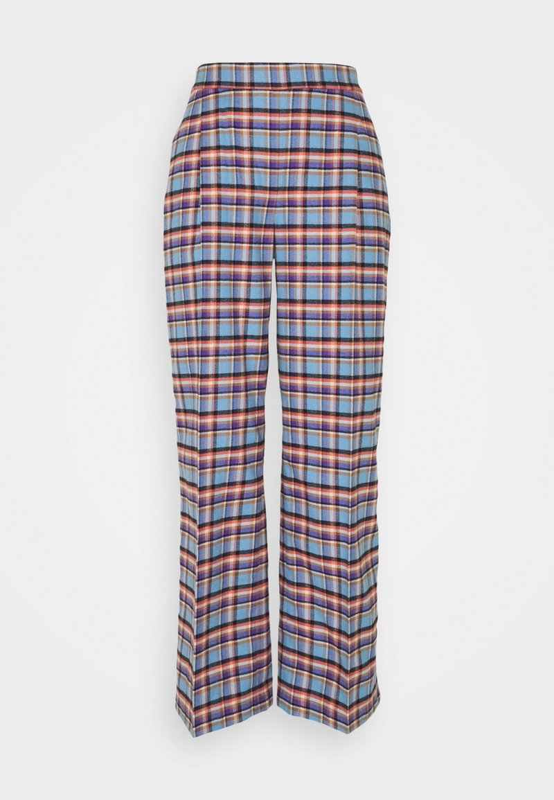 Libertine-Libertine - TRAVEL PANTS - Trousers - skye blue