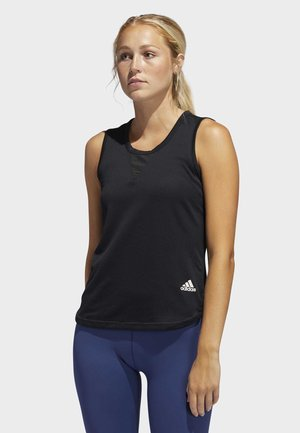 HEAT.RDY 3-STRIPES TANK TOP - Top - black