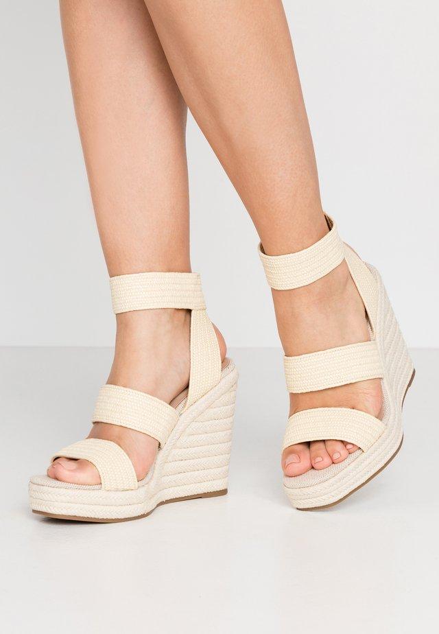 MARICHINI - Sandály na vysokém podpatku - natural