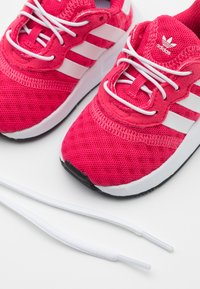 adidas Originals - X_PLR SPORTS INSPIRED SHOES UNISEX - Trainers - super pink/footwear white/core black - 5