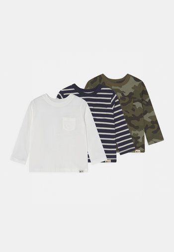 3 PACK - Long sleeved top - green