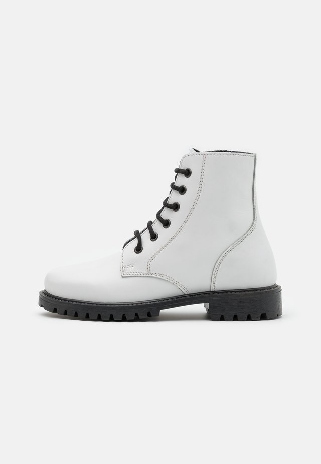 KEFF UNISEX - Bottines à lacets - white