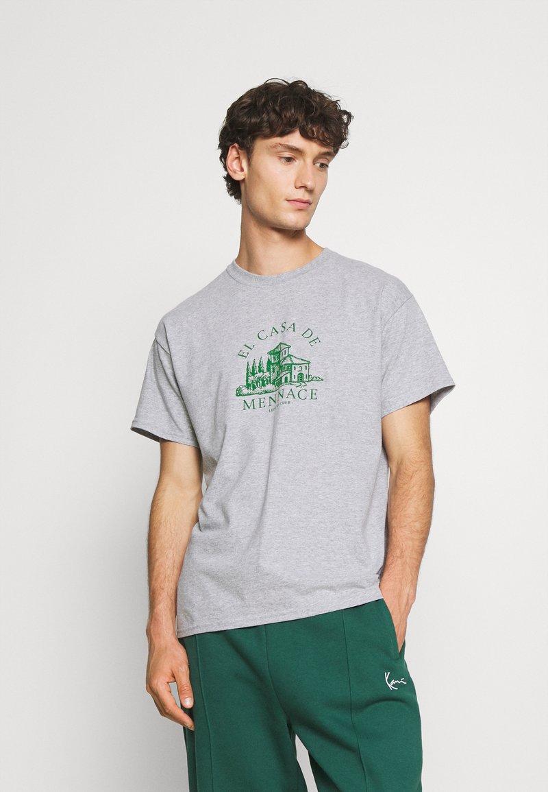 Mennace - EL CASA UNISEX - T-shirt con stampa - grey