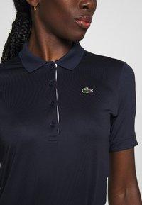 Lacoste Sport - PF5179 - Sports shirt - navy blue/white - 4