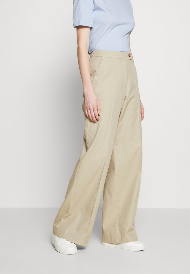 HARPER - Trousers - sand
