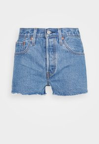 Levi's® - 501® ORIGINAL - Jeansshort - blue denim - 4