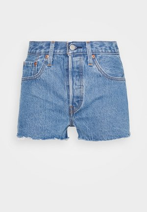 501® ORIGINAL - Jeansshorts - blue denim