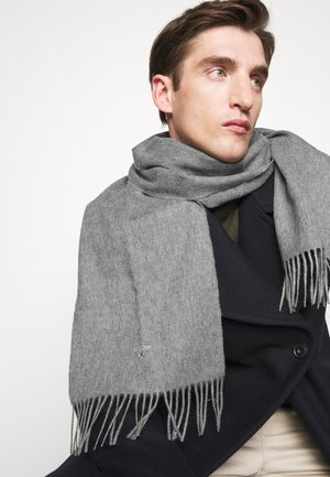 PLAIN SCARF UNISEX - Scarf - light grey marl