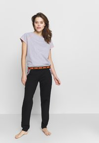 Moschino Underwear - SHORT SLEEVE - Pyjama top - gray melange - 1
