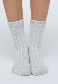 OYSHO - 2 PACK - Socks - light grey - 1