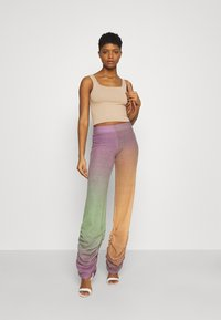 Jaded London - RUCHED HEM PRINTED JOGGERS - Trousers - multi - 1