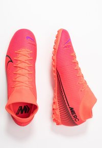 Nike Performance - MERCURIAL 7 ACADEMY TF - Astro turf trainers - laser crimson/black - 1