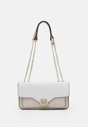 BELLE ISLE XBODY FLAP - Handbag - stone