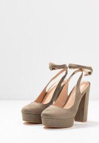 Even&Odd - High heels - oliv - 4