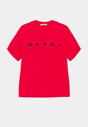 MAGLIETTA UNISEX - Triko spotiskem - geranium red