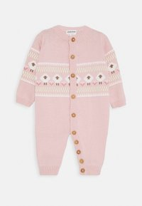 Jacky Baby - OVERALL FLUFFY & LOVELY - Jumpsuit - rosa - 0